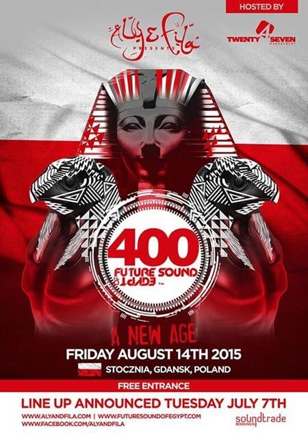 Future Sound of Egypt 400 Centum Stocznia Gdańska (14.08.2015) - Will Rees