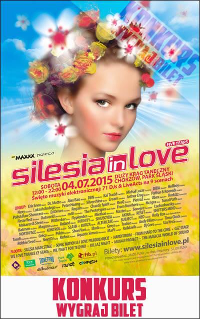 Konkurs - Wygraj bilet na Silesia In Love 2015 Chorzów