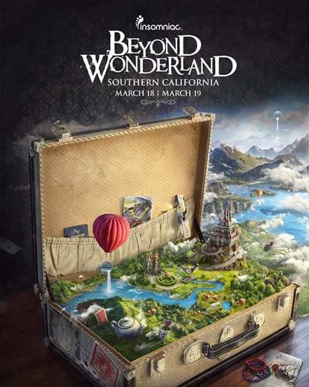Beyond Wonderland SoCal 2016 - San Manuel Amphitheater (18-20.03.2016)