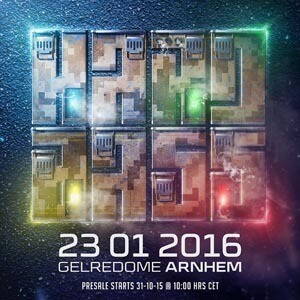 Hard Bass 2016 - GelreDome Arnhem - Official Sets