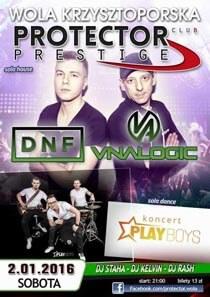PROTECTOR Prestige (Wola Krzysztoporska) - DJ ANTEX Live (02.01.2016)