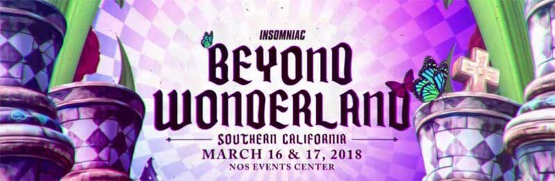 Beyond Wonderland March 16-17, 2018