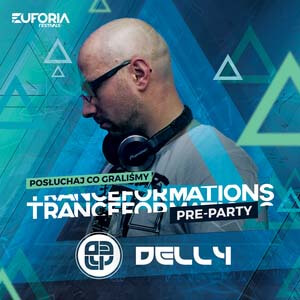 DELLY live at Pre-Party TRANCEFORMATIONS 2018 (Wrocław 09.02.2018)