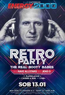 Energy 2000, Katowice - RETRO PARTY - The Real Booty Babes (13.01.2018)