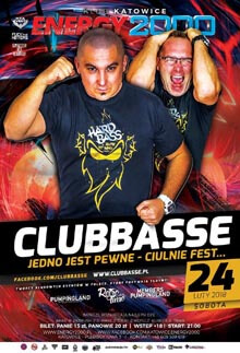 Energy 2000, Katowice - CLUBBASSE - Live On Stage (24.02.2018)