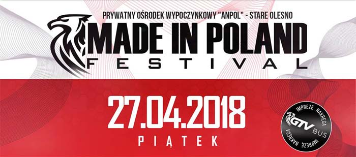 Made in Poland festival 27.04.2018