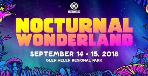 Nocturnal Wonderland 14.09.2018