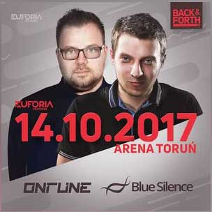 ONTUNE & BLUE SILENCE live at EUFORIA FESTIVALS - BACK & FORTH 3.0