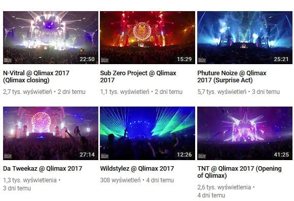 Qlimax 2017 - LIVE SETS - N-Vitral, Sub Zero Project, Phuture Noize, Frequencerz, Wildstylez