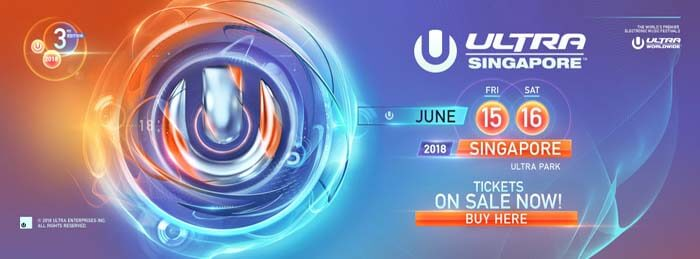 Ultra Singapore (1 Bayfront Avenue) 15-16.06.2018
