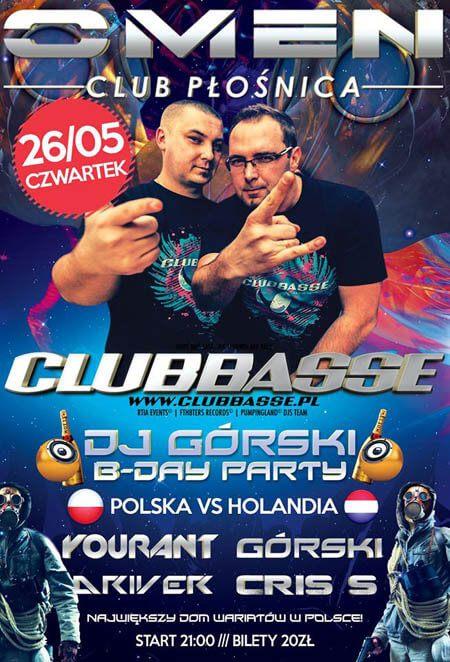 Omen p o nica polska vs holandia clubbasse dj g rski for Portent vs omen