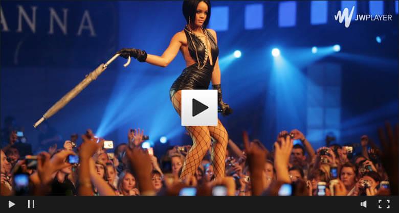 Rihanna na żywo w Warszawie
