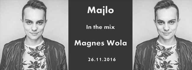 Dj Majlo In The Mix Magnes Wola Rychwalska 26.11.2016