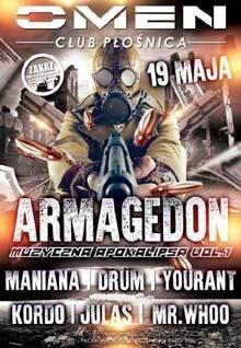 JULAS @ OMEN CLUB PŁOŚNICA - ARMAGEDON vol.1 - 19.05.2017