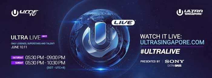 Ultra Singapore 2017 - Watch Live (Broadcasting)