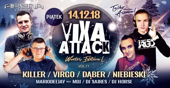 Arena Kokocko - Vixa Attack Vol.11 (14.12.2018)
