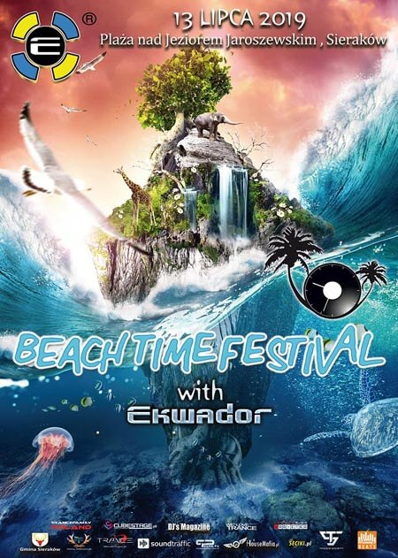 BEACH TIME FESTIVAL with EKWADOR (13.07.2019)