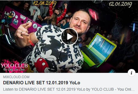 Yolo Club - Denario 12.01.2019
