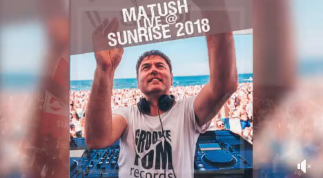 MATUSH - Sunrise Festival Afterparty 2018