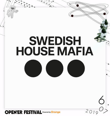 Swedish House Mafia zagrają na Open'er Festival 2019