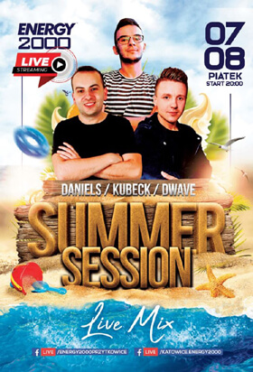 Energy 2000 Katowice - SUMMER SESSION - Daniels, Kubeck, D-Wave (07.08.2020)