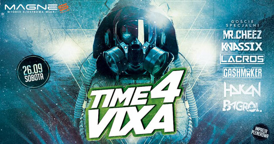 MR.CHEEZ - MAGNES WTÓREK - TIME 4 VIXA (26.09.2020)