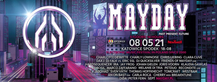 Mayday Poland (Past:Present:Future) 08.05.2021