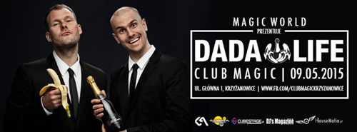 Club Magic (Krzyżanowice) - Magic World, Dada Life (09.05.2015) AFTERMOVIE