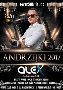 Nitro Club, Nysa - Dj Alex (25.11.2017)