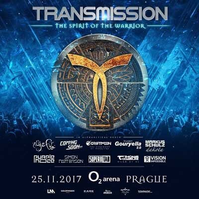 Transmission - The Spirit of the Warrior - Prague, Czech Republic (25.11.2017) LIVE SETS