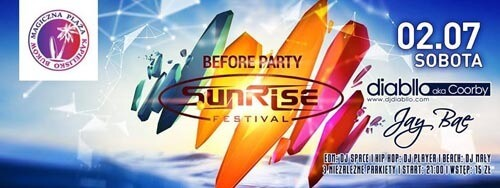 Diabllo aka Coorby - Before Party Sunrise Festival Magic Club Krzyżanowice 02.07.2016