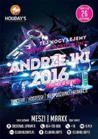 Meszi live at Club Holidays, Orchowo - Andrzejki 26.11.2016