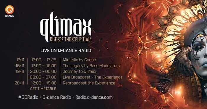 Qlimax 2016 - Transmisja (LIVE ON Q-DANCE RADIO)