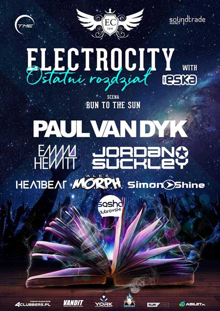 Electrocity Festival 2017 - Lineup sceny RUN TO THE SUN