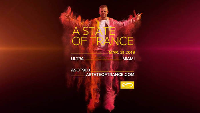 A State Of Trance 900 Ultra Music Festival, Miami (31.03.2019) LIVE SETS