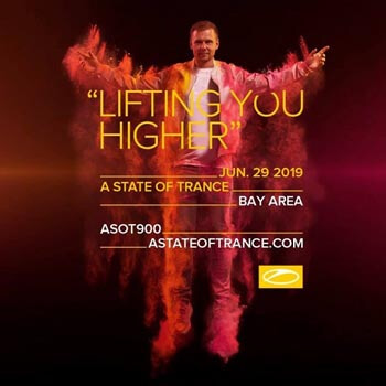 A State Of Trance 900 Festival Oakland Coliseum, USA (29.06.2019) SETS