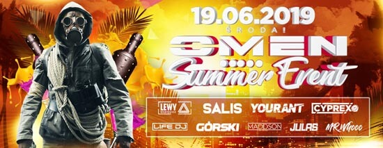 YOURANT LIVE - OMEN CLUB PŁOŚNICA - OMEN SUMMER EVENT 19.06.2019