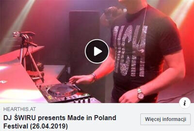Made in Poland Festival 2019 - LIVE SET - DJ ŚWIRU