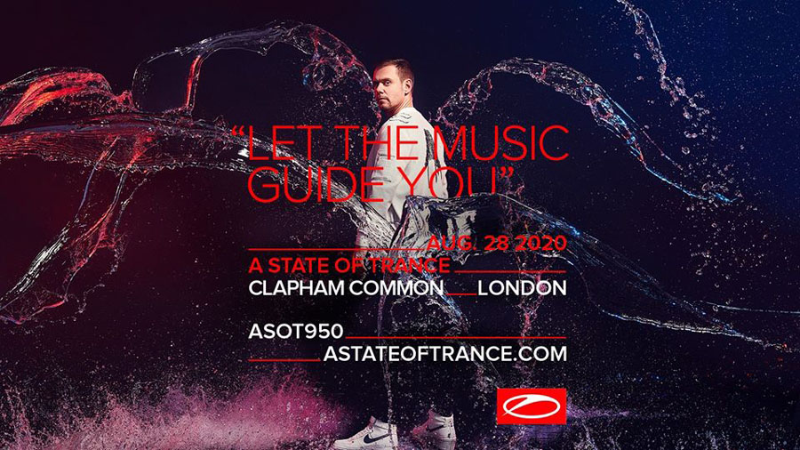 A State Of Trance 950 - London, Clapham Common (28.08.2020)