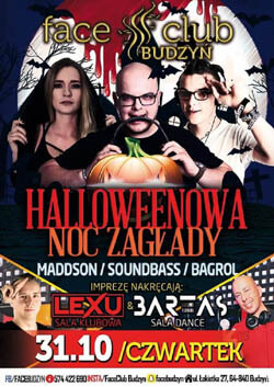 SOUND BASS - FACE CLUB BUDZYŃ 31.10.2019