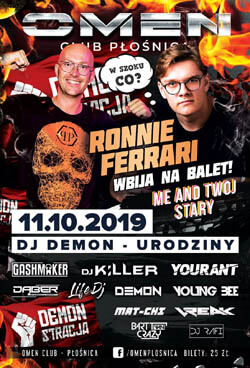 DJ Yourant - Omen Płośnica - SET Z DEMONSTRACJI 2019