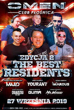 SETY THE BEST RESIDENTS vol.2 Omen Płośnica Omeniki (27.09.2019)