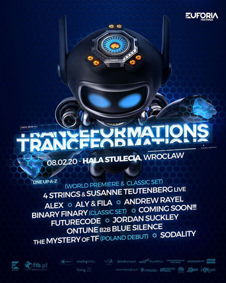Delly - Pre-Party Tranceformations 2020, D.K. Luksus, Wrocław 07.02.2020 (Mainstage)