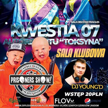 Dj Young'D - Live Mix Explosion Club Radom (15.02.2020)
